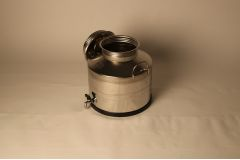Бидон из нержавеющей стали 10 литров со сварным дном