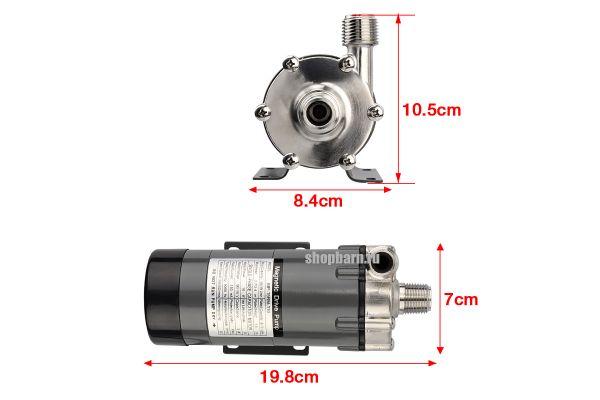 Насос с магнитной муфтой высокотемпературный MP-15RM